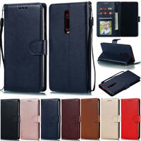 Slim Wallet Leather Flip Case Cover For Xiaomi Redmi Note 9s Note 9 7A 8A 9A K20