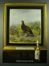 1980 The Famous Grouse Scotch Ad - Quality in an Age of Change