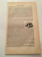 K27) Gravesend Bay Brooklyn New York American Revolution 1860 Engraving