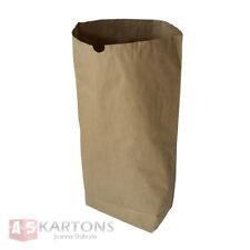 10 St. Papiersäcke braun 120 Liter, 2-lagig 70x95x20, Papiersack, Abfallsäcke