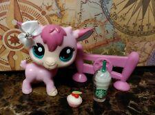 Littlest Pet Shop LPS lot ❤ #2533 PINK Billy Goat ❤ Custom EUC RARE Accessories
