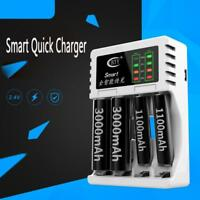Intelligent Fast Led Charger for AA AAA Ni-MH Ni-Cd Rechargeable Battery DQUK