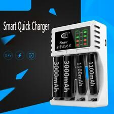 Modern 4 Slot Battery Charger For AA / AAA Ni-MH / Ni-Cd Rechargeable Batteries