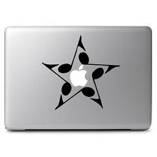 "Music Star Vinyl Decal Sticker Skin for Apple Macbook Air & Pro 11"" 13"" 15"" 17"""