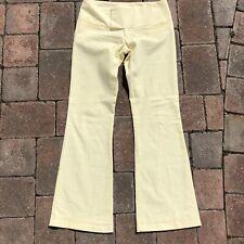Alvin Valley Yellow Seersucker Trousers NWOT Sz 38/4 $345