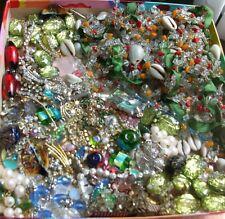 Huge Lot Broken Jewelry for Parts / Repairn / Repurpose / Crafts Free Ship