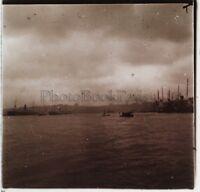 Costantinopoli Turchia Foto C12 Placca Da Lente Stereo Vintage 1926
