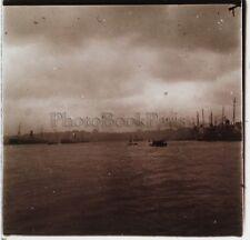 Constantinople Turquie Photo C12 Plaque de verre Stereo Vintage 1926