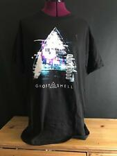 New Nwt Licensed Ghost In The Shell Japanese Anime Logo Black T-Shirt Sz S-Xl