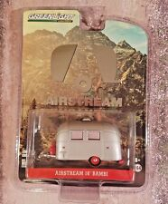 Greenlight Airstream 16' Bambi 1:64 Silver w/Red Accents Die Cast Trailer 29857