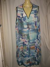 TS Lovely Abstract Print Dress Size 18-22