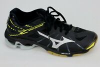 Mizuno Wave Lightning SR Touch Womens Volleyball Shoes Sneakers Size 9 Black