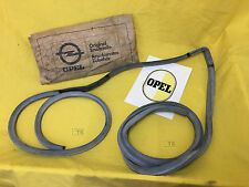 NEW + ORIG Opel Door seal Kadett B Gasket Door Coupe Saloon Driver's door 2Türe