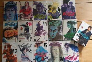 Vagabond Manga - 16 Bände - (Ausgaben siehe Fotos)