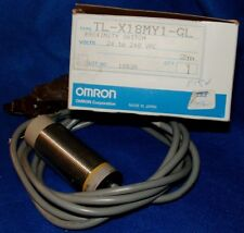 Omron TL-X18MY1-GL Proximity Switch 24 to 240 VAC - 2m Cable - NOS
