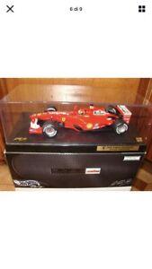 hot wheels Ferrari F1 Michael Schumacher World Champion