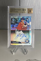 2019 Bowman Chrome Kyle Tucker Refractor Auto RC /499 BGS 9.5/10 GEM MINT!