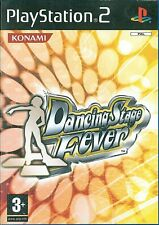 Dancing Stage Fever Sony Playstation 2 PS2 Game