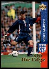 Upper Deck England 1998 - On the Edge Nigel Martyn # 64