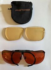 Re Ranger Classic Shooting Glasses With Two Lens