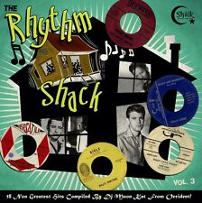 LP THE RHYTHM SHACK VOL 3 - 18 KILLER WILD BLACK ROCKERS INSTROS DJ MOON KAT