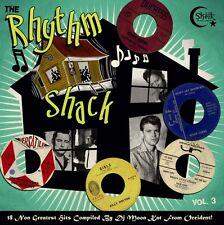 LP THE RHYTHM SHACK VOL 3 - 18 KILLER WILD BLACK ROCKERS INSTROS DJ MOON KAT