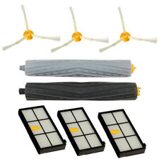 Tangle-free Side Brush Filter Debris Extractor Set For irobot Roomba 800 870
