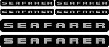 SEAFARER - DECAL SET OF 6 - BOAT DECALS