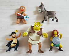 SHREK FIGURES small toys MCDONALDS action figure FIONA donkey PUSS IN BOOTS