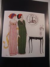 Art Deco Vintage Fashion Print Paul Poiret Dresses Design Illust. by Paul Iribe