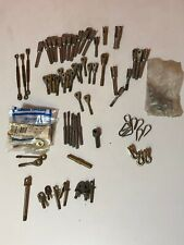 Lot of New Control Cable Terminal Parts— Turnbuckles, Thimble Eyes, Swaged Ends