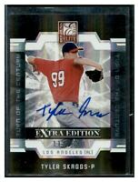 2009 Elite Extra Edition #21 TYLER SKAGGS Autograph AUTO Rookie Pre-RC /820