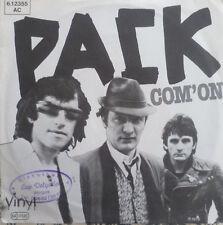 "7"" 1978 SUPER RARE ITALIAN PUNK! Pack: com 'on"