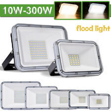 10//50//100//300W LED Floodlight Ultrathin Graden Spot Lamp RGB//Cool//Warm White