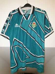Vintage REAL BETIS Sevilla 1995-1997 HOME SHIRT Camiseta Medium ADULTS top