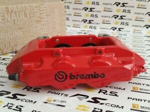 New GENUINE Renault Sport Clio III 3 RS 197 200 brembo caliper front RED right