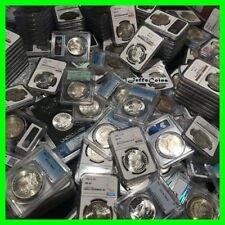 ✯Estate Lot US Silver Dollars ✯ PCGS NGC Morgan Peace UNC ✯ O, S, P, CC Coins✯