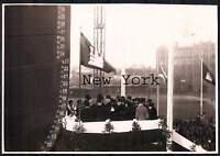 Echtfoto Hamburg Blohm & Voss - Stapellauf der Hamburg America Line SS New York