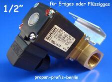"""Gas - Magnetventil 1/2"""" für Erdgas oder Propangas ( Hersteller Bürkert )"""