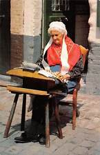 Belgium Bruges Dentelliere Old Woman Lace Maker
