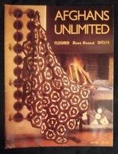 Afghans Unlimited Booklet - 15+ Afghan designs