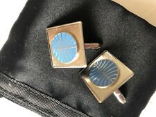 Vintage enamel Pan Am cufflinks