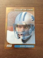 1999 Topps SC Chrome Eyes of the Game Barry Sanders SCCE22 Refractor BV $37.50