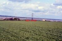 PHOTO  1984 THE HUMBER BRIDGE PHOTOGRAPHED FROM THE B2104
