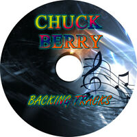 CHUCK BERRY GUITAR BACKING TRACKS CD BEST GREATEST HITS MUSIC PLAY ALONG ROCK