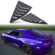 1/4 Side Window Louvers Sun Shade Shield Lambo Style fit 2010-2015 Chevy Camaro