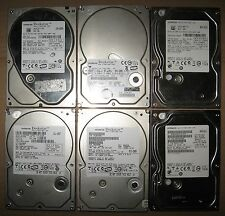 "Lot of 6 Hitachi SATA 3.5"" 250GB Internal Desktop Hard Drive Tested and Wiped"