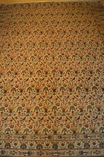 8'x11' Persian Qum Qom Ghum Handmade Knotted Genuine Antique Rug - Mint Huge!