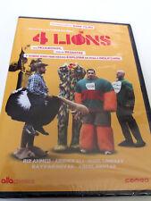 """DVD """"4 LIONS"""" PRECINTADO SEALED CHRIS MORRIS"""