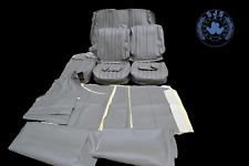 Sitzbezüge für Mercedes W108 W109 W111 W110 190 Heckflosse  grau NEU !!